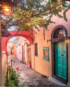 colourful Oia - Santorini - Greece