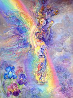 Fantasy Art: Fairies, Artist: Josephine Wall