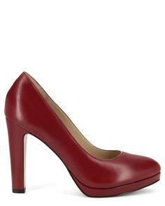 ESCARPINS GACINTA Pumps, Heels, Fall Winter, Fashion, Smooth Leather, Heel, Moda, Fashion Styles, Pumps Heels