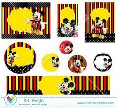 Kit festa Especial Mickey mod:259