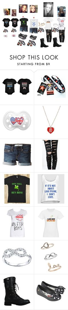 """Riley and Harpers First Concert"" by born2shine ❤ liked on Polyvore featuring Joe's Jeans, Payne, Forever 21, Footnotes, Miss Selfridge, Melissa and Bodhi"