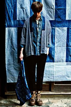 """SENSE Magazine """"TEXT in visvim"""" 2012 Spring/Summer Collection Editorial"""