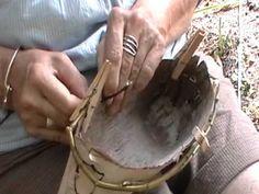 Nancy Today: birchbark container 3 rim