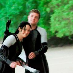 This GIF makes me happy. Catching Fire