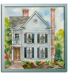 Authentic Historical Designs, LLC House Plan-2nd Charleston Square ...