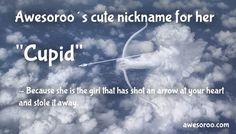 cupid with female nick