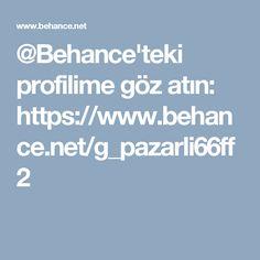@Behance'teki profilime göz atın: https://www.behance.net/g_pazarli66ff2