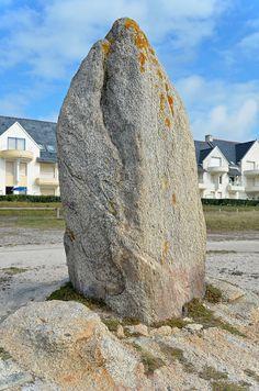 Menhir de la Pierre Longue.  Le Croisic, Loire-Atlantique. Brittany