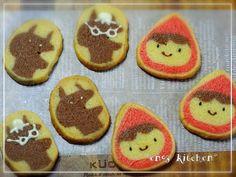 *2014.4.6♡話題入り大感謝* 金太郎飴式に作るアイスボックスクッキー。切った時の感動を味わって♪