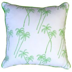 Green Palm Cushion  www.cocopalms.com.au