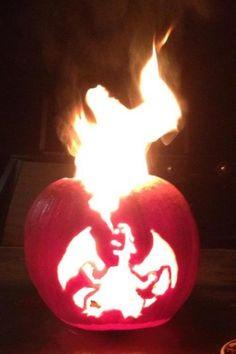 So I heard you like pumpkins, charizard, fire, pokemon