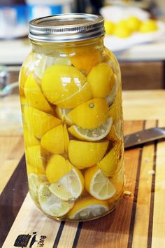 Burp!: Preserved Lemons and Six Great Ways to Use Them