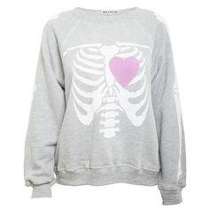 Wildfox Beating Heart Sweater