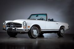 Like I say..it's never out of style!! I'd like to try this on! :) 1969 Mercedes-Benz 280SL Roadster (W113)