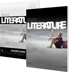 World Literature Set for High School. Available at Master Books! This curriculum puts some of the world's literary treasures into historical, religious, and cultural context as students explore literature from ancient times to the modern period. Students will encounter translated works from across the globe, including Chinese, Russian, Indian, French, German, Persian, and Arabic literature, and discover fascinating literary movements like romanticism and realism.