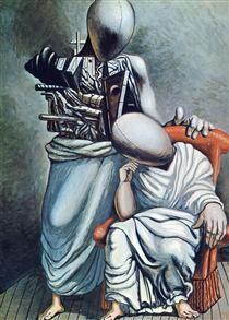 The one consolation - Giorgio de Chirico