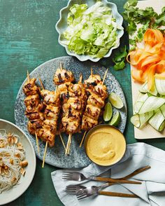 Best Kebab Recipes: Our Favorite Grilled Foods on a Stick :: We love grilling kebabs for their ease and versatility. :: Martha Stewart