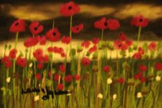 "Painted 2009  ""Poppyfield"""