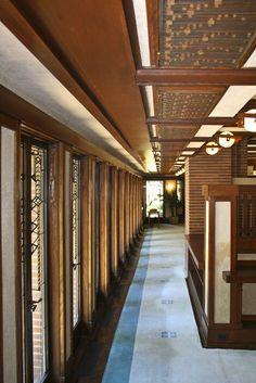Darwin D Martin House Frank Lloyd Wright 1903 5