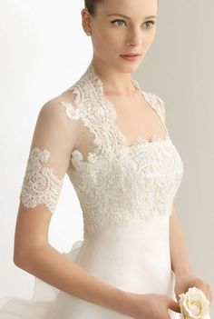 illusion lace sleeves