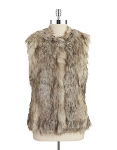 Faux Fur Vest | Lord and Taylor