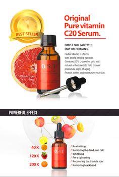 Sparklings Makeup Blog: OST Original Pure Vitamin C20 Serum~ Review