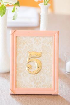 Pretty Peachy Blush Tones Gold Wedding Inspiration