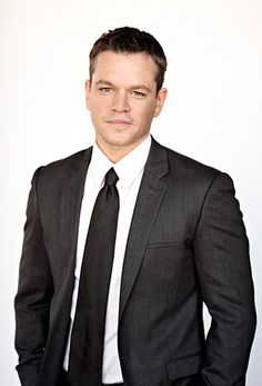 Stars in Suits! Bourne gorgeous. Matt Damon rocks a suit like no one. | follow rickysturn/mens-fashion