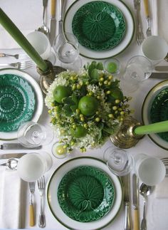 Green and White... Majolica at it's best