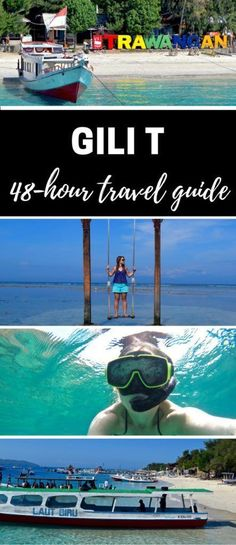 Read This Before Travelling To The Gili Islands, Indonesia Gili T - Travel Guide. Travelling to Gili T in the Gili Islands, Indonesia? Find out the best things to do, places to stay and what you just shouldn't miss! Bali Travel Guide, Asia Travel, Travel Tips, Travel Guides, Travel Books, Travel Journals, Travel Plan, Gili T Island, Vietnam