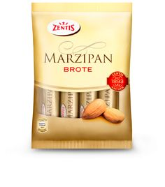 The individually wrapped 25-g miniature Zentis Marzipan-Breads in the popular 50/50 marzipan quality, deliciously surrounded by crisp chocolate, are a welcome treat for snackers of all ages. These fine miniature breads not only enrich...