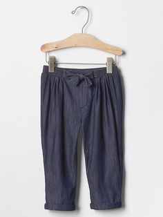 Denim soft pants Product Image