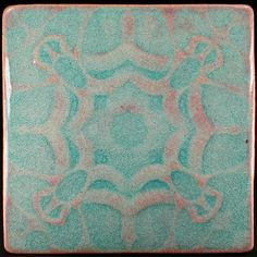 Wall tile Arts and Crafts tile 6 x 6 by CampbellTileworks on Etsy