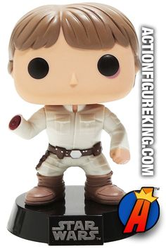 #STARWARS #LUKESKYWALKER Vinyl Bobblehead #Figure. View full listing and quickly search thousands of new and vintage #collectibles #toys and #ActionFigures… http://actionfigureking.com/list-3/funko-toys-collectibles-and-figures/funko-pop-star-wars-figures/funko-pop-star-wars-luke-skywalker-bespin-encounter-figure-94