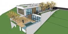 Como construir uma casa em terreno em declive | 44 ARQUITETURA