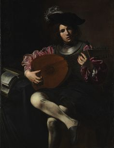 Valentin de Boulogne: The Lute Player (2008.459)   Heilbrunn Timeline of Art History   The Metropolitan Museum of Art