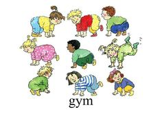 gym Pre School, Clipart, Projects To Try, Cartoon, Comics, Kids, Fictional Characters, September, Pranks