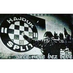 Srce nece bez tebe Hajduce moj.... #hajduksplit #hajduka #hajduk #torcida #torca #1950 #1911 #split #hnkhajduk