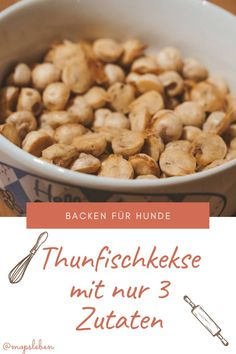 [Futter] Thunfischkekse für Hunde | miDoggy Community Breakfast, Food, Best Food For Dogs, Ice Cream For Dogs, Tuna, 3 Ingredients, Healthy Recipes, Meal, Allergies