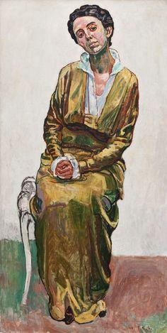 Ferdinand Hodler | 1853-1918, Swiss | portrait of Emma Ferdinand Hodler