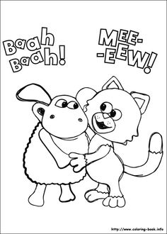timmy time coloring picture - Drawings For Children To Color