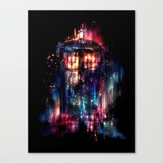 All of Time and Space Stretched Canvas by Alice X. Zhang - $85.00