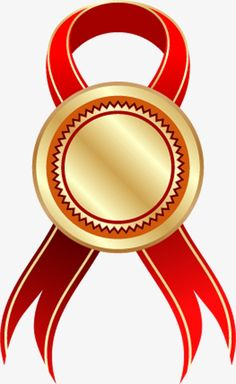 Gold medal with red ribbon PNG and Clipart Ribbon Clipart, Ribbon Png, Red Ribbon, Frame Border Design, Page Borders Design, Certificate Background, Award Template, Hacker Wallpaper, Wedding Album Design