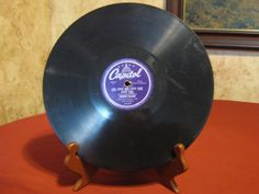 Capitol (purple label) Now! Now! Now!- Gordon MacRae 78 RPM 10 In. Record