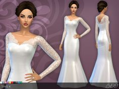 beocreations: Wedding dress 25 V.3DOWNLOAD