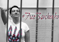 Nadia Savchenko has spent 237 days in a Russian prison and is now slowly dying in the 57th day of a hunger strike #MSC2015