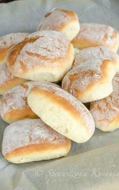 Oto najpopularniejsze trendy w Pinach w tym tygodn. Kolaci I Torte, Homemade Dinner Rolls, Kitchenaid, Food Design, Bread Baking, My Favorite Food, Food Inspiration, Love Food, Sweet Recipes