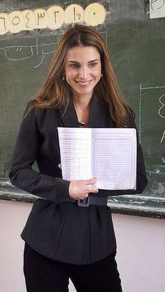 Sept. 15, 2014 ♔♛Queen Rania of Jordan