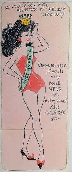 Ladies, we've got everything Miss America's got!   ;-)