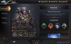 게임UI ::: 매일매일 보고 느끼고 배우고 - Garmuri.com - 게임UI 디자인 모음 R Colors, Game Gui, Game Ui Design, Branding, Interface Design, Board Games, Character Design, Layout, Creative